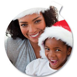 Photo Ornament - Round