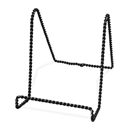 Twisted Black Easels
