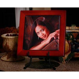 Tile Frame - Rosewood