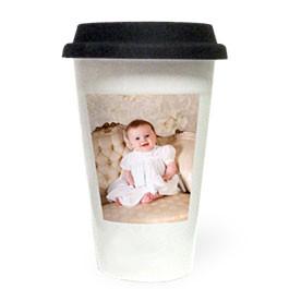 10oz White Tumbler Mug