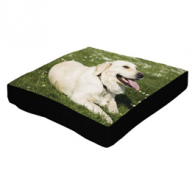Personalized Woven Photo Dog Bed
