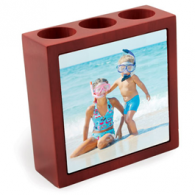 Personalized Photo Pencil Holder