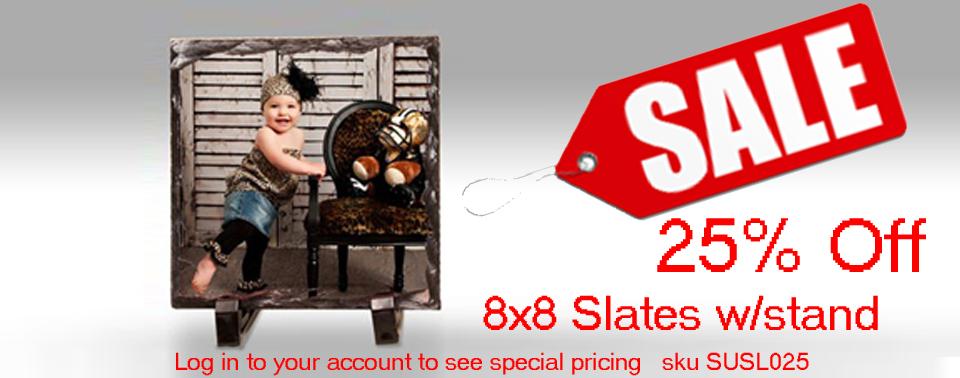 8x8 Slate